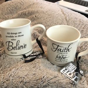 Other - Coffee mugs with scriptures ✨NEW✨